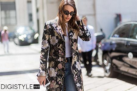مد پاییز 2017 و 5 روش برای پوشیدن استایل گلدار زنانه 3