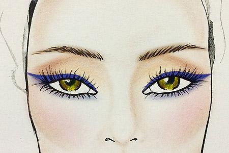 خط چشم مناسب برای رنگ چشمهای شما کدام است؟ 1