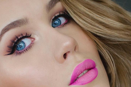 مدل هایی زیبا از آرایش صورت پاییزه 10