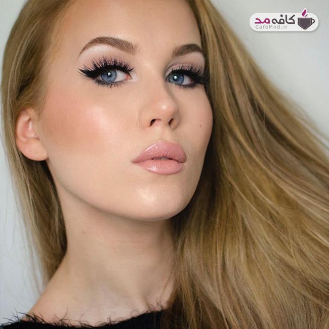 مدل هایی زیبا از آرایش صورت پاییزه