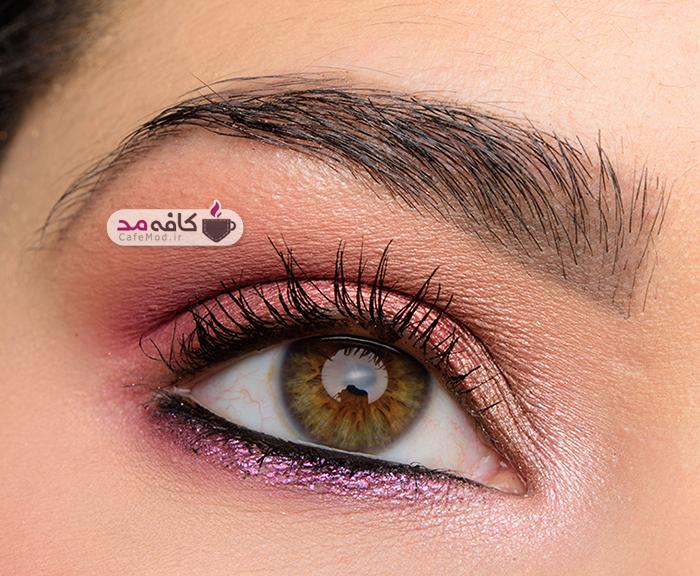 مدل های بسیار زیبا از آرایش چشم پاییزه