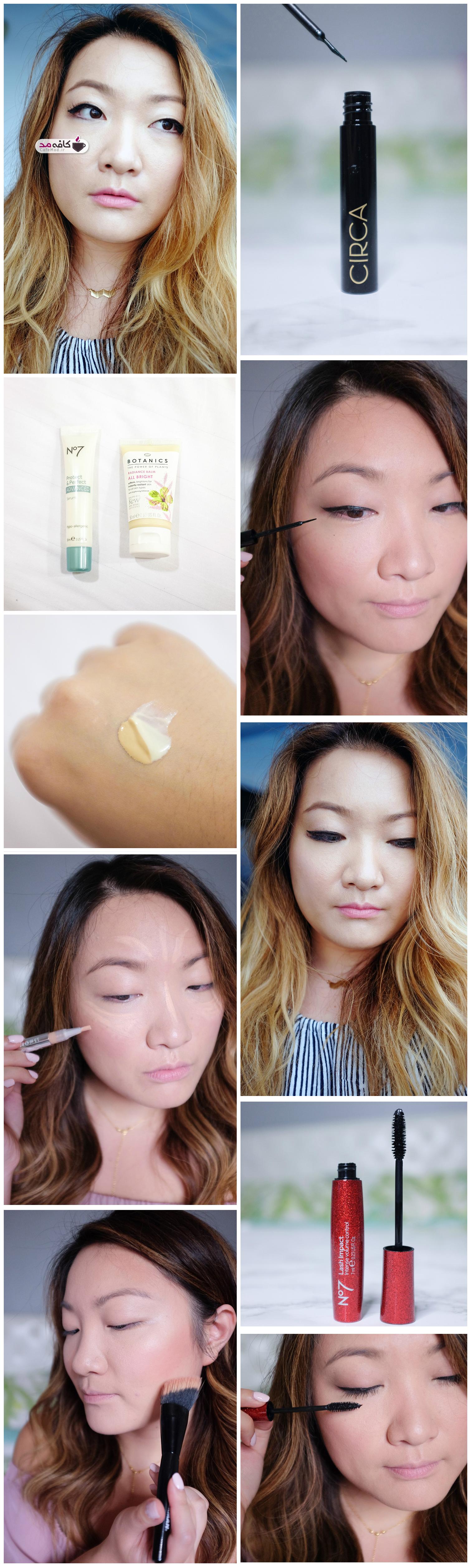 آموزش آرایش صورت و چشم