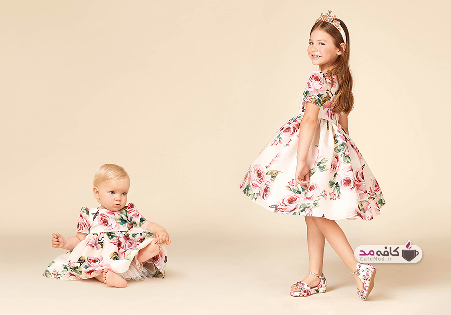 مدل لباس نوزادی و دخترانه Dolce&Gabbana
