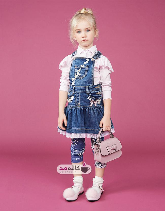 مدل لباس زمستانه دخترانه Monnalisa