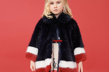 مدل لباس پاییزه و زمستانه دخترانه Monnalisa 10