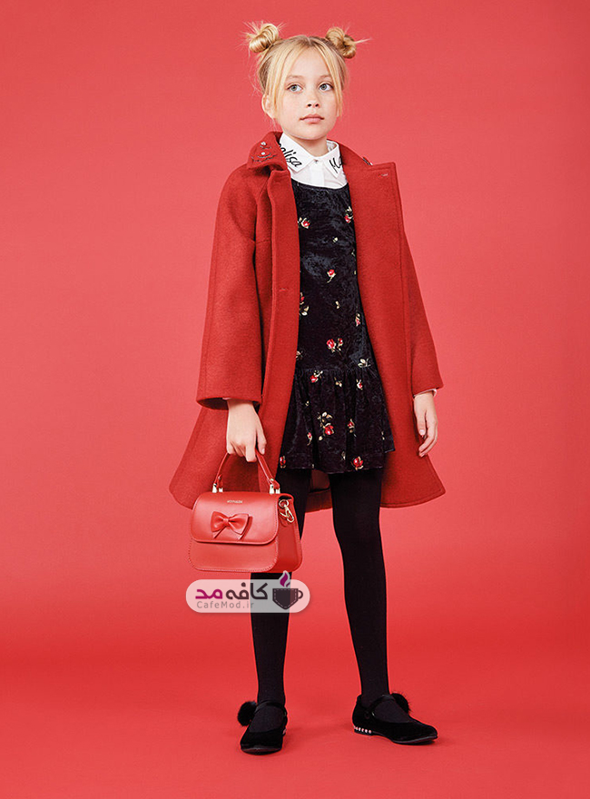 مدل لباس پاییزه و زمستانه دخترانه Monnalisa