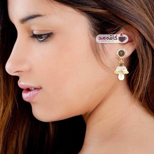 مدل های زیبا از گوشواره های هندی