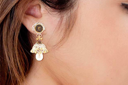 مدل های زیبا از گوشواره های هندی 8