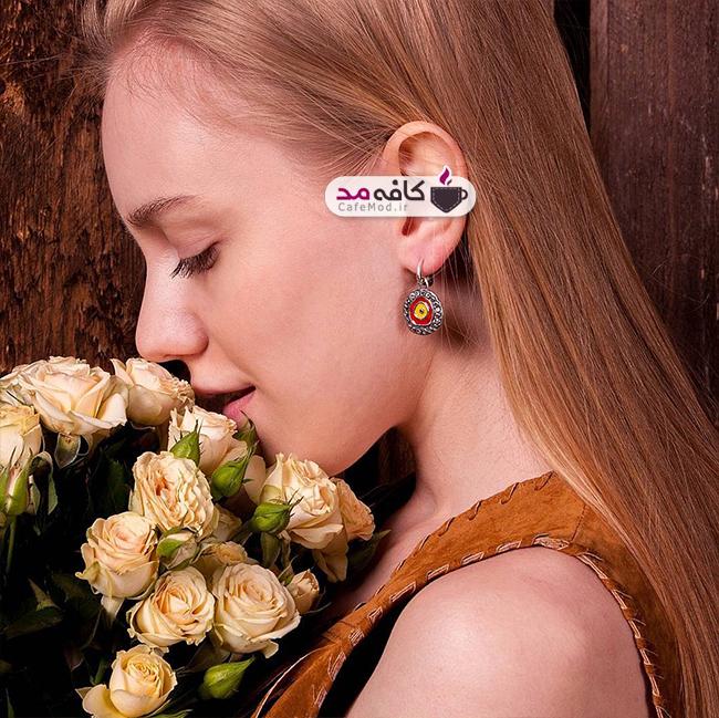 مدل های زیبا از گوشواره های دست ساز