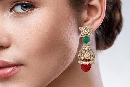 مدل های زیبا از گوشواره های هندی 9