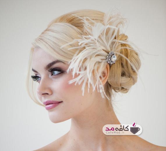 مدل های بسیار زیبا از تاج سر عروس