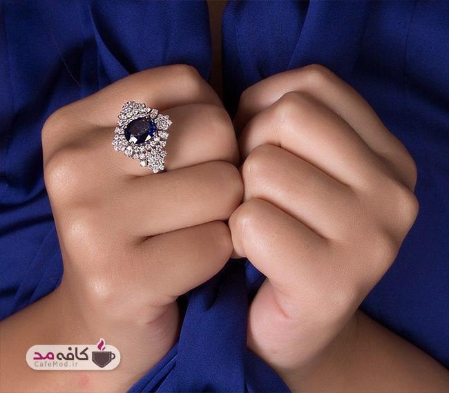 مدل جواهرات زیبا از برند زرنگار