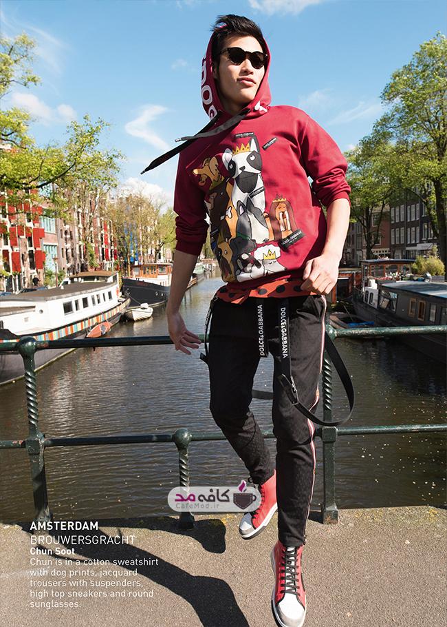 مدل لباس مردانه Dolce&Gabbana
