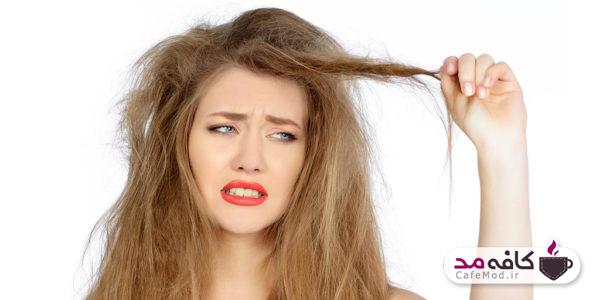راه های خلاصی از وز شدن موها