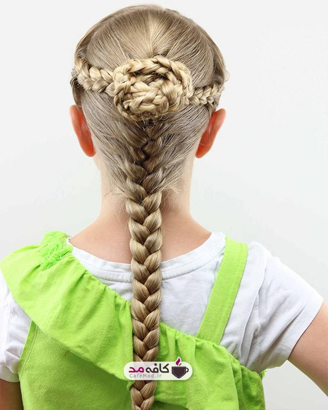 مدل های زیبا از بافت موی دخترانه
