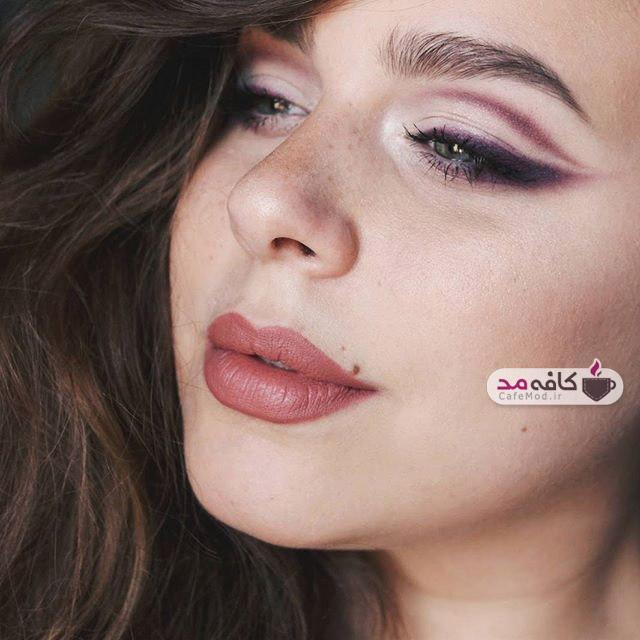 مدل آرایش صورت 2018