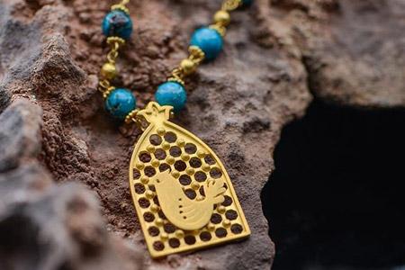 مدل طلا و جواهرات گالری عقیق 10