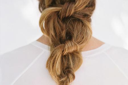 آموزش بافت مو با گره زدن 3