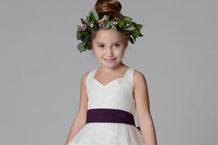 مدل لباس عروس دخترانه BariJay 10