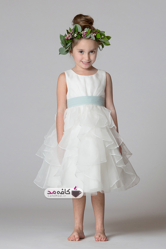 مدل لباس عروس دخترانه BariJay