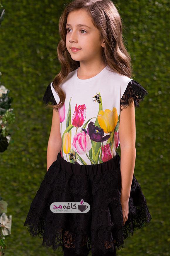 مدل لباس مجلسی دخترانه Love Made Love