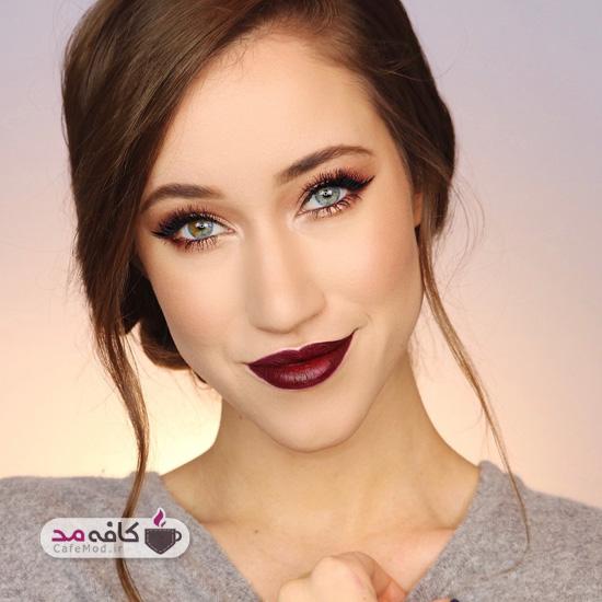 مدل آرایش صورت کشیده