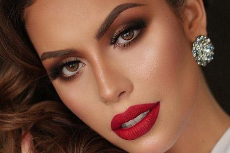 مدل آرایش مجلسی 13