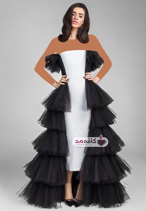 مدل لباس مجلسی Rasario