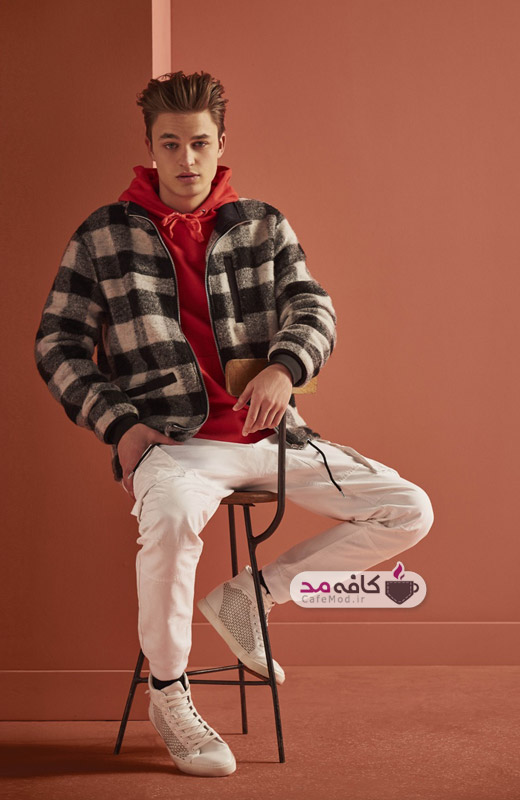 مدل لباس زمستانه مردانه River Island