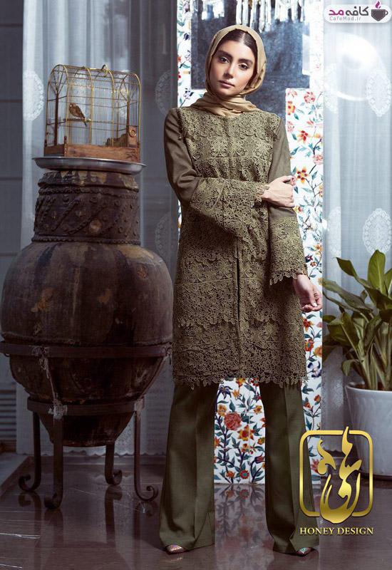 مدل مانتو برند Honey design