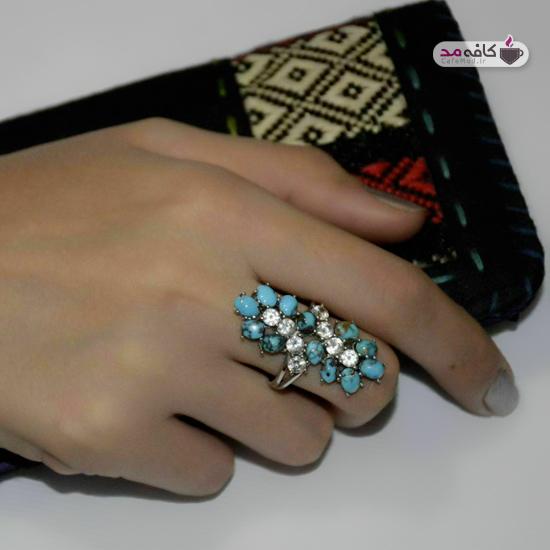مدل زیورآلات نقره ایرانی جدید