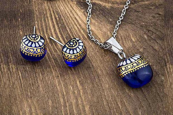 جواهرات ميناكاری برند ایرانی سارازی 15