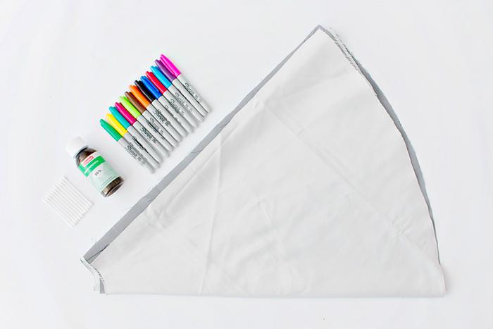 آموزش رنگی کردن دامن