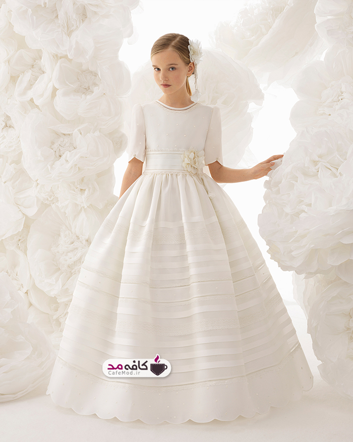 مدل لباس عروس دخترانه 2018
