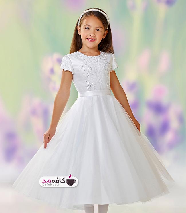 مدل لباس عروس دخترانه جدید Moncheri