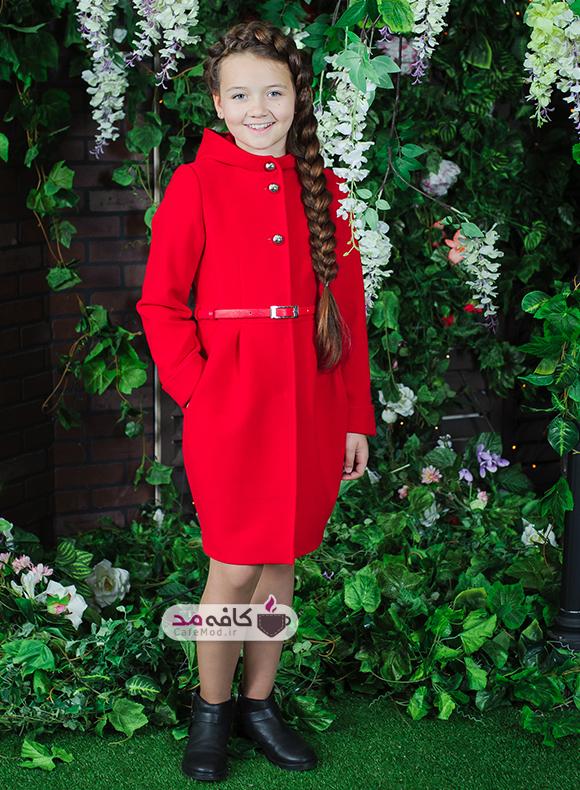 مدل لباس دخترانه زمستانه 2018