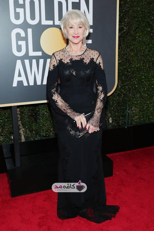 برترین لباس هنرمندان در مراسم گلدن گلوب 2018
