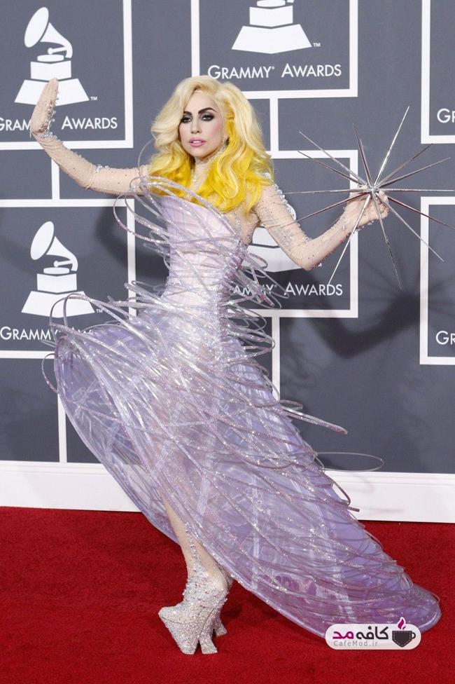 لباس های عجیب لیدی گاگا