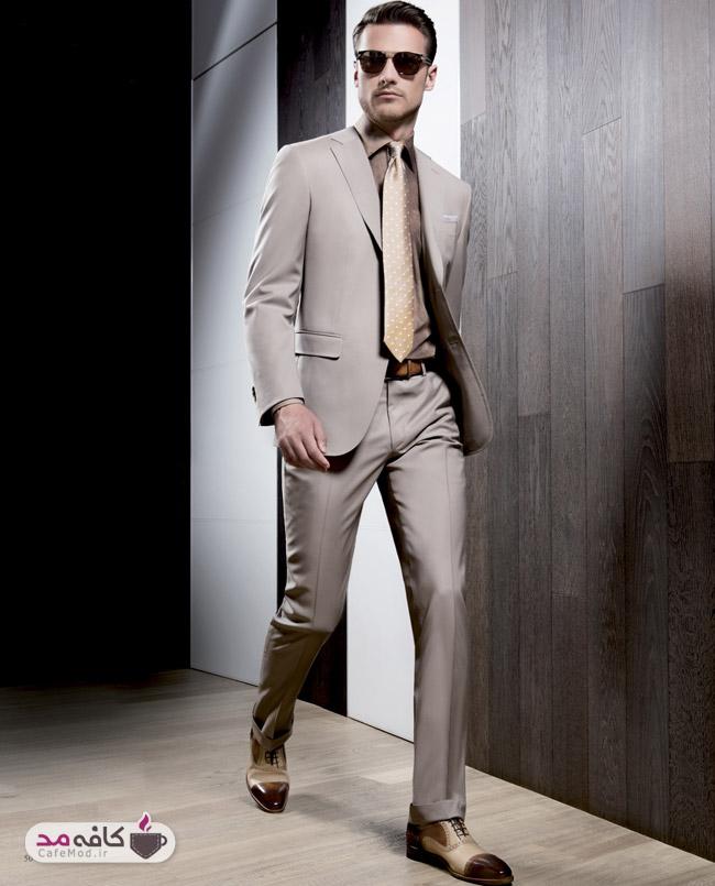 پوشش مناسب مردان لاغر و قد بلند
