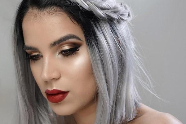 مدل آرایش و زیبایی
