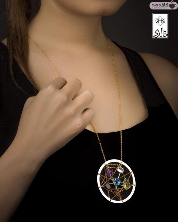 مدل طلا و جواهرات خالدی