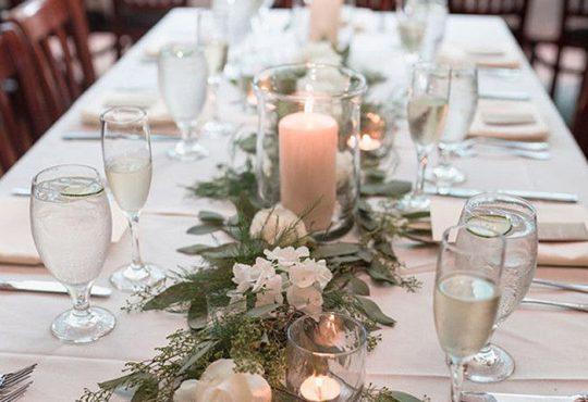 تشریفات چیدمان میز غذا برای مهمانی