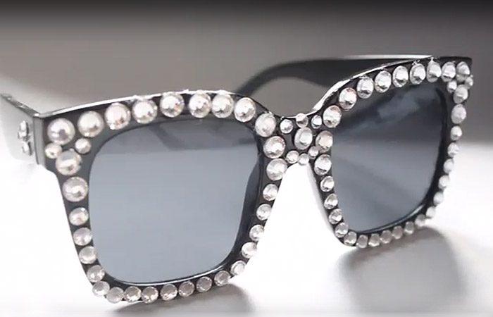فیلم آموزش تزیین عینک آفتابی