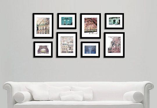 نصب تابلو روی دیوار با توجه به دکوراسیون منزل
