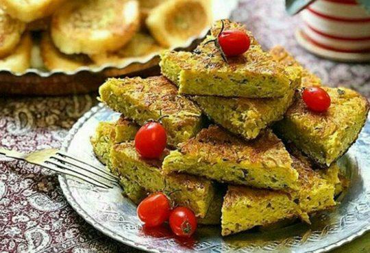 طرز تهیه کوکوی لوبیا سبز