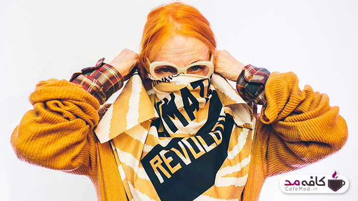 ویوین وست وود طراح لباس جنجالی بریتانیایی