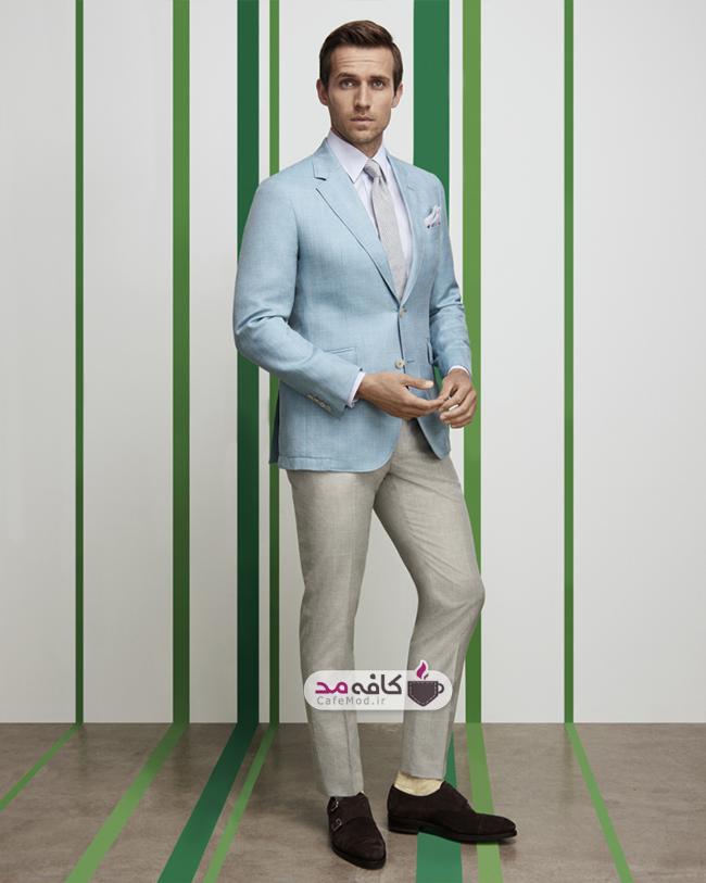 مدل کت و شلوار مردانه HACKETT