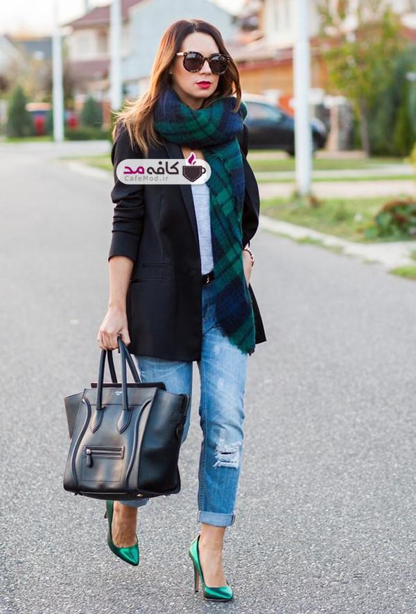 ست کردن رنگ و مدل کیف با کفش آری یا نه