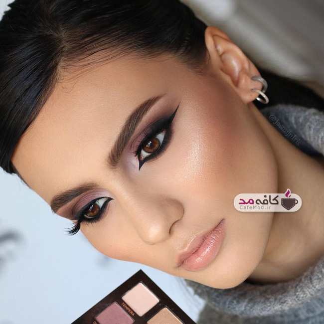 مدل آرایش شیک و جذاب
