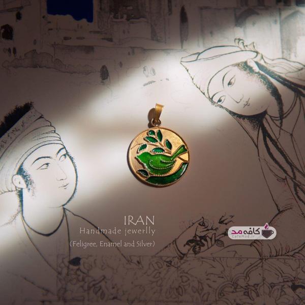 دست سازه های نقره ایران